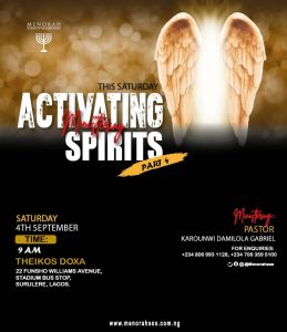 Read more about the article Activating the Ministering Spirit Part 4