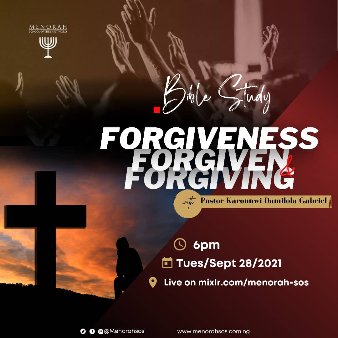 You are currently viewing Forgiveness Forgiven And Forgiving